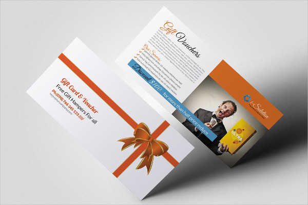 Product Promotion Gift Vouchers Template