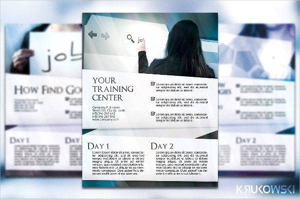 Professional Business Training Flyer or Poster Template