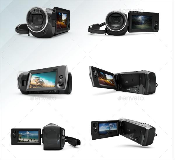 Professional Camera Mockups