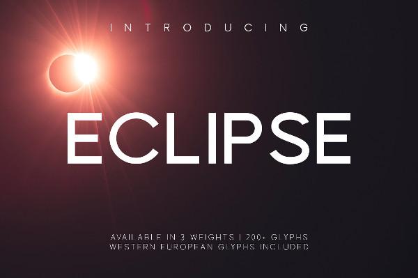 Professional Eclipse Regular Font