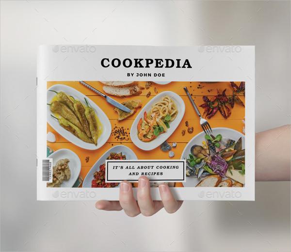 Professional Landscape Food Brochure Template
