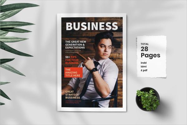 Professional Magazine Layout Design