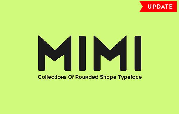 Professional Mimi Typeface Font
