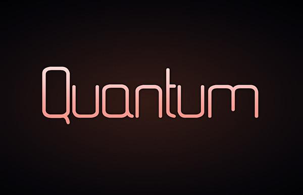 Professional Quantum Fonts
