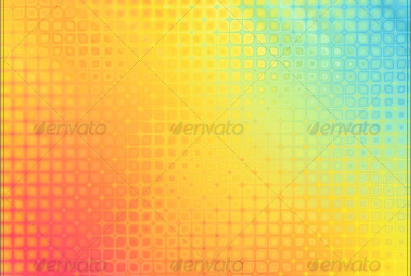 Set of Rainbow Rain Backgrounds