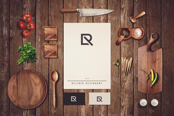 Custom Restaurant Branding Mockup