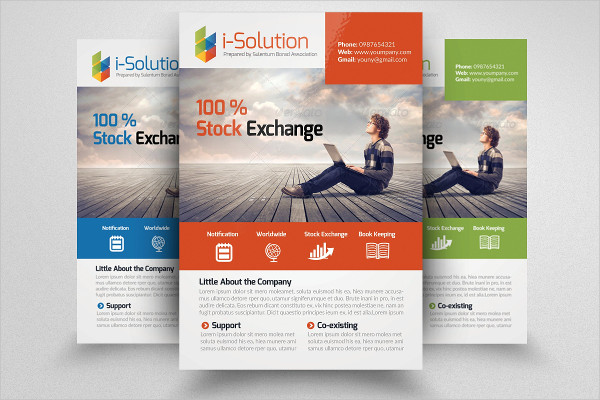 Colorful Business Training Flyer Design