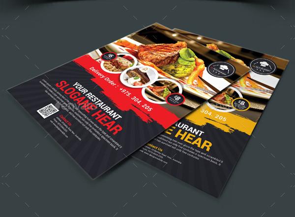 Restaurant or Bakery Flyer Template