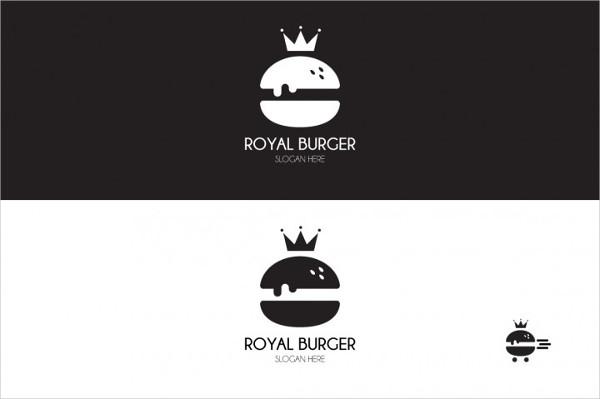 Royal Burger Patterns And Logo Designs