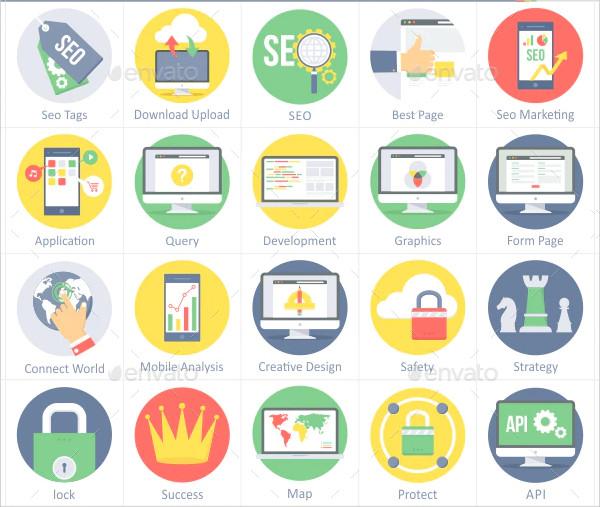 Conversion Optimization & Web Development Icons