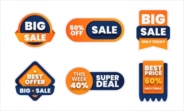 Sale Label Collection Free Download