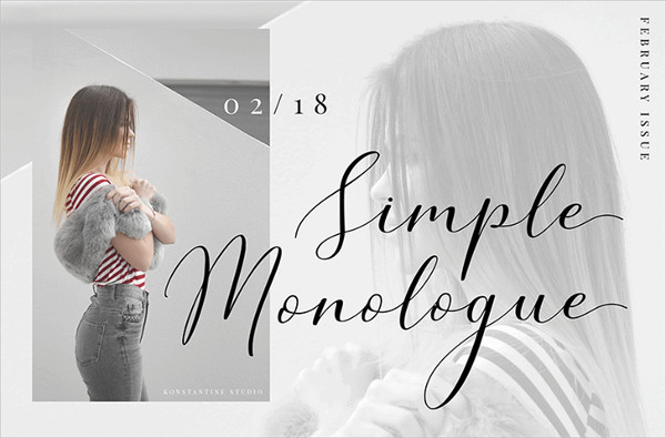 Simple Monologue Doodle Font Free