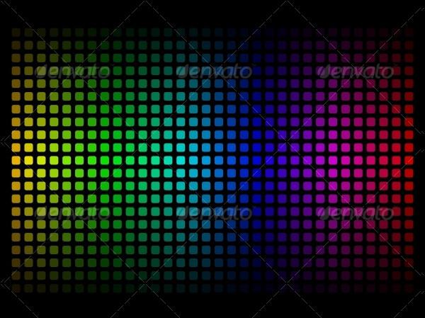 Spectrum Rainbow Colors Background