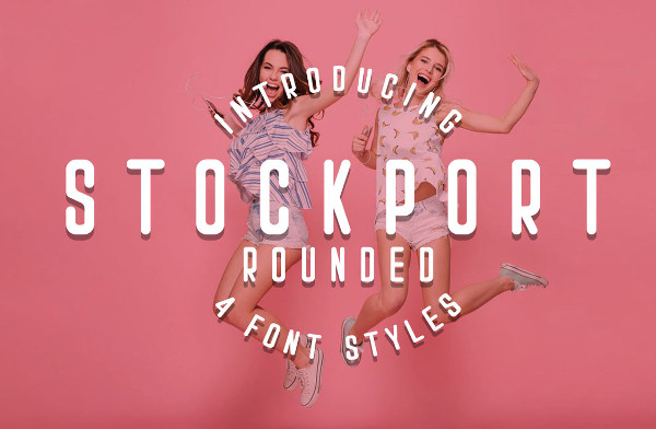Stockport Rounded Font