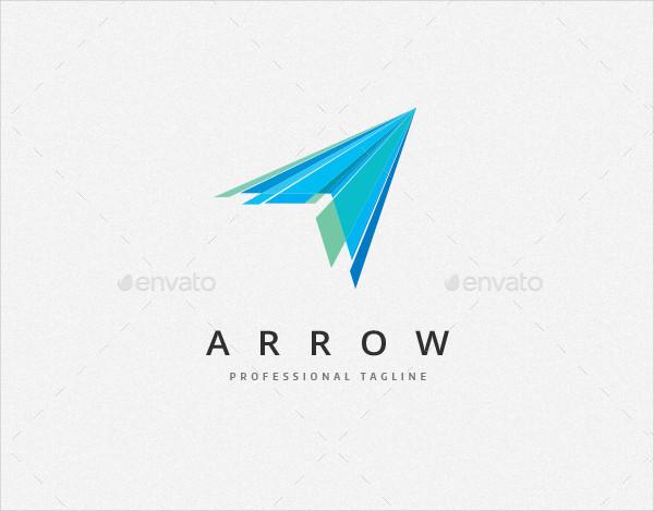 Stylized Arrow Logo Template