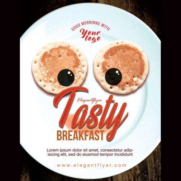 Tasty Restaurant Free Flyer Template