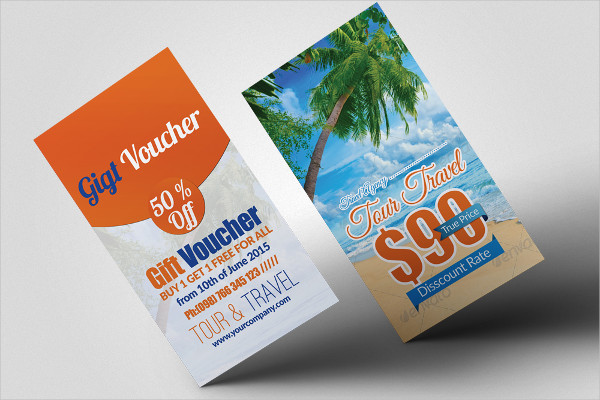 Tour Travel Gift Vouchers Template