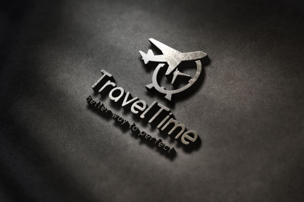 Travel Time Logo Template