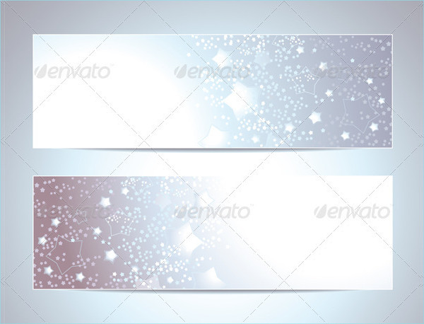 Two Abstract Banner Backgrounds