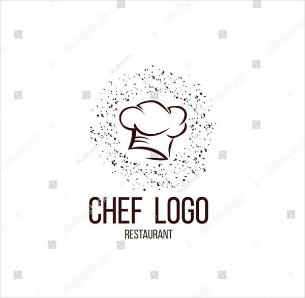 Vintage Chef Sign Logo Template