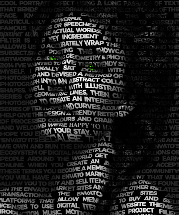 Typography Effect Photoshop Action