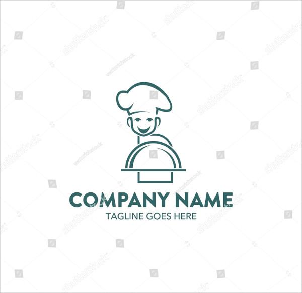 Unique Chef Business Logo Template