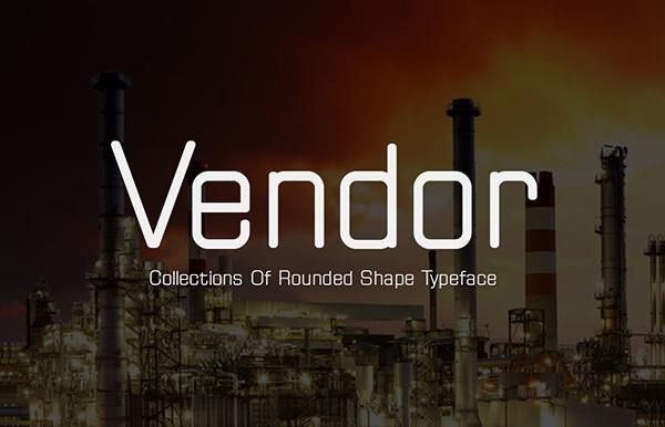 Vendor Professional Font