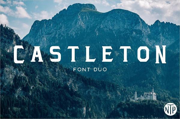 Versatile Castleton Font Duo