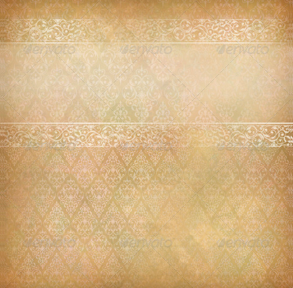 Vector Background with Lace Banner