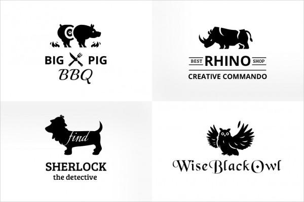 Vintage & Creative Animal Logo Badge