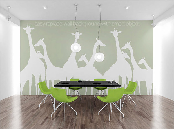 Wall Art PSD MockUp Free