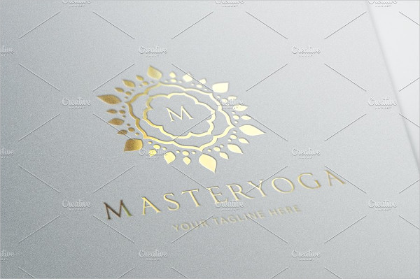 Yoga Master Logo Design