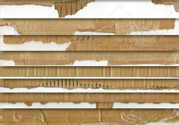 23 CardBoard Textures for Website Design