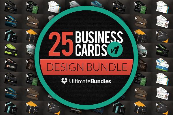 25 Business Cards Design Bundle