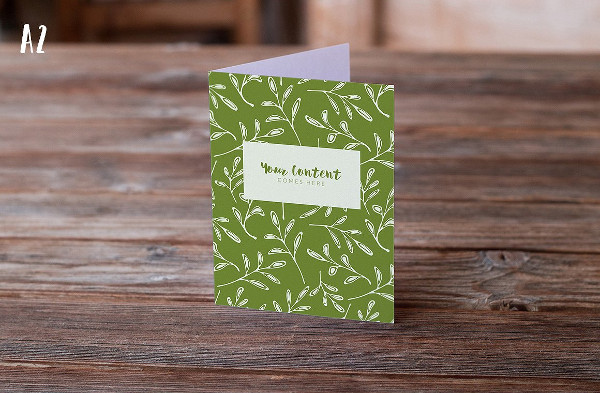 9 Authentic Greeting Card Mockups