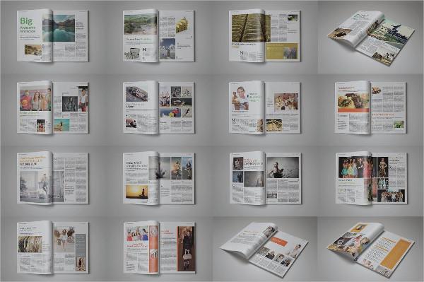 Print Ready Universal Magazine Templates Bundle