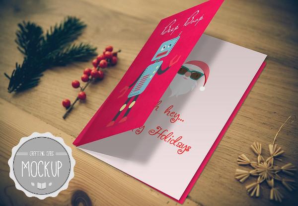Attractive Greeting Card Mockups Design
