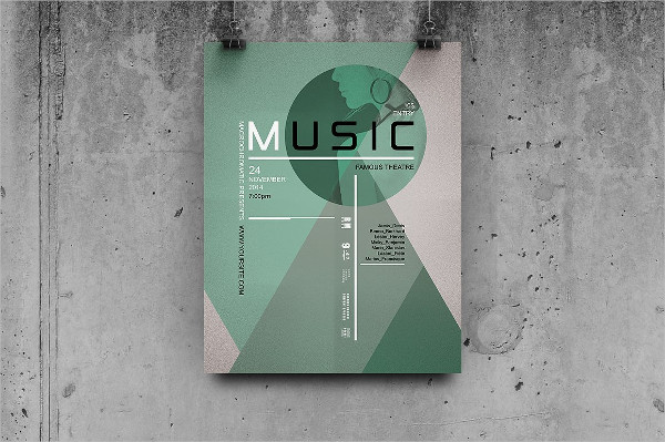 Printable Music Event Poster