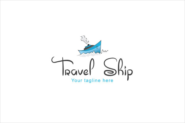 Attractive Overseas Touring Logo Template