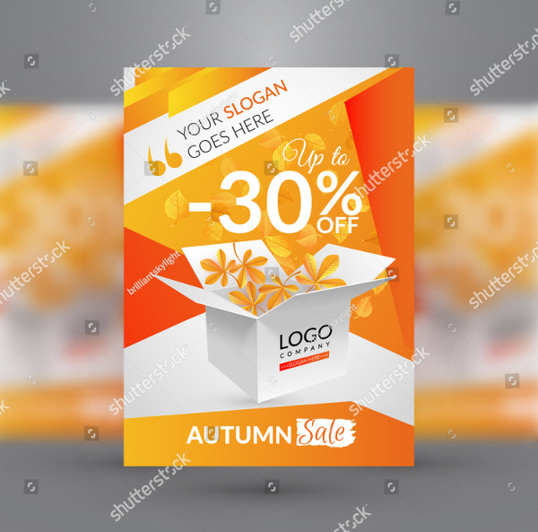 Autumn Sales Flyer Template