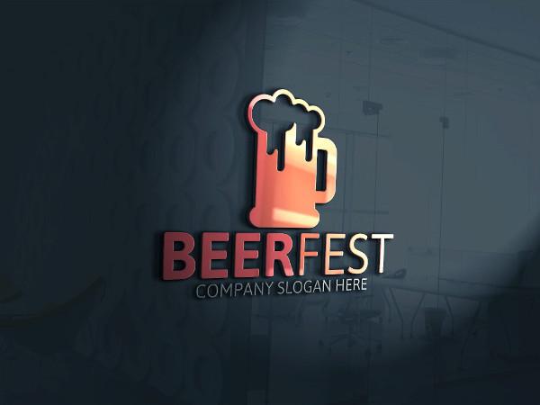 Beer Fest Logo Template