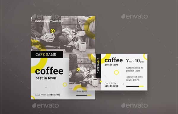 Best Coffee Shop Flyers