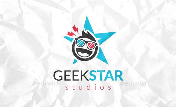 Best Geek Star Studios Logo