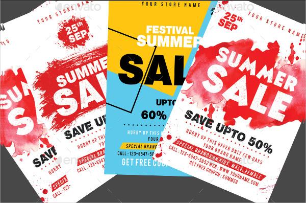 Big Summer Sale Flyers Bundle