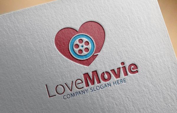 Branding Love Movie Logo Ideas