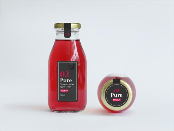 Branding Sauce Bottle Mockup Free