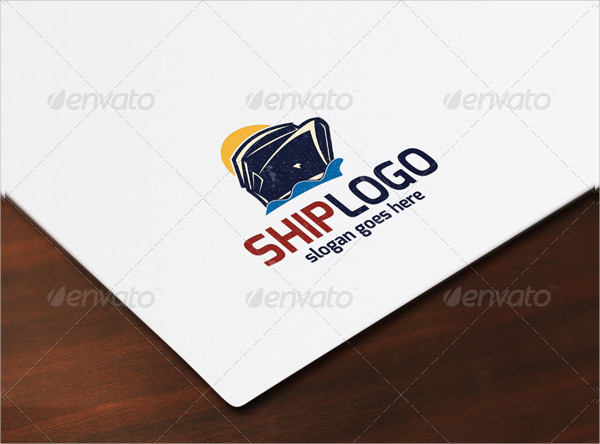 Branding Ship Logo Template