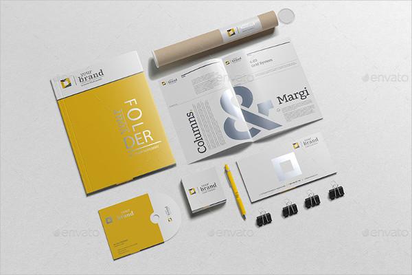 Branding Stationery Mockups PSD