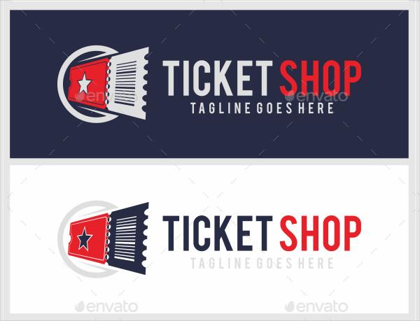 Popular Ticket Shop Logo Templates