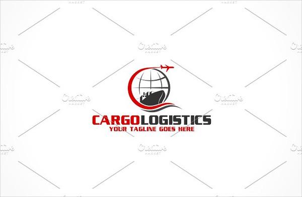 Cargo & Logistics Logo Template